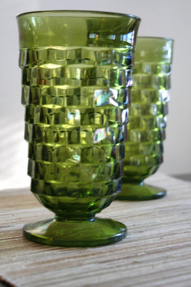 Decanters & drinking-glasses (dating notes)