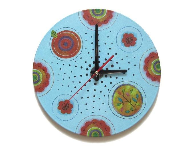 dots clock etsy