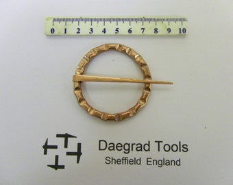 anglo-saxon viking medieval copper annular brooch