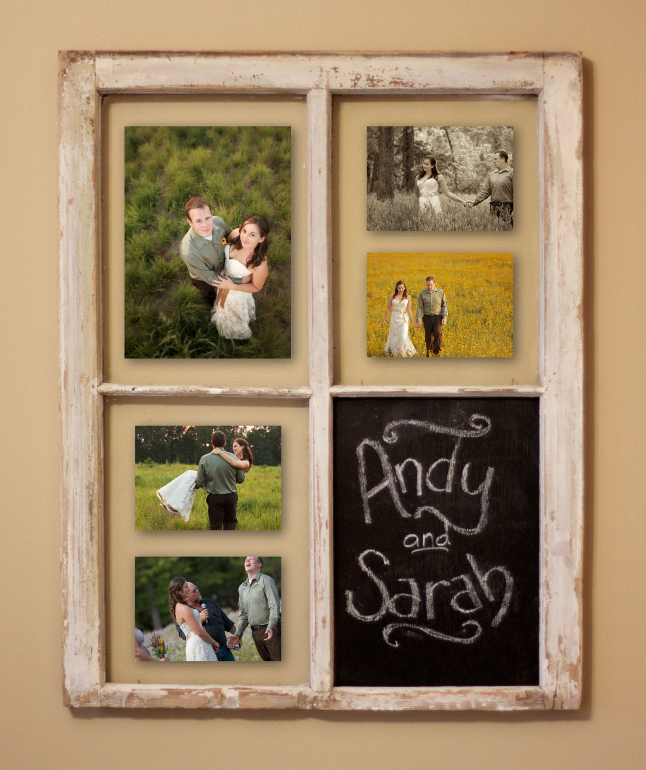 rustic window picture frame picture frame multiple photo