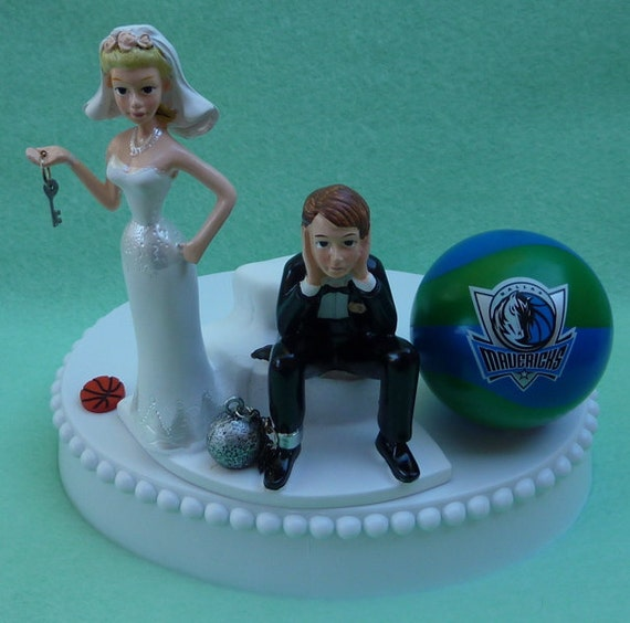 wedding cake toppers dallas tx wedding cake topper dallas mavericks mavs basketball themed 26447