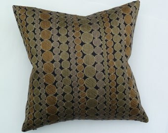"Pollack Fabrics Mid-Century Modern look - accent Pillow -  17"" X 17"""