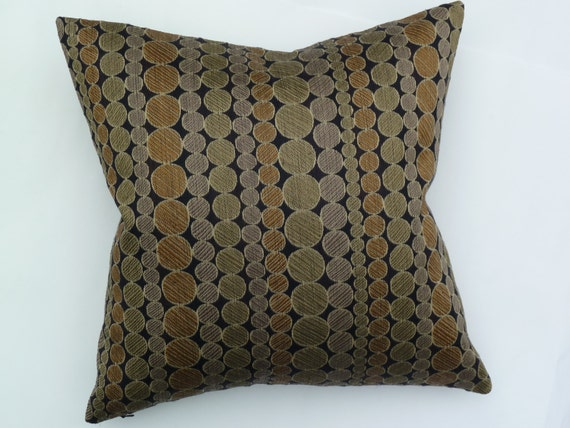 Maia Modern Pillows : Pollack Fabrics Mid-Century Modern look accent Pillow