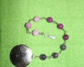 Tripple Goddess Pagan Prayer Beads