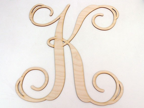 12 single wooden letter for Individual wooden letters