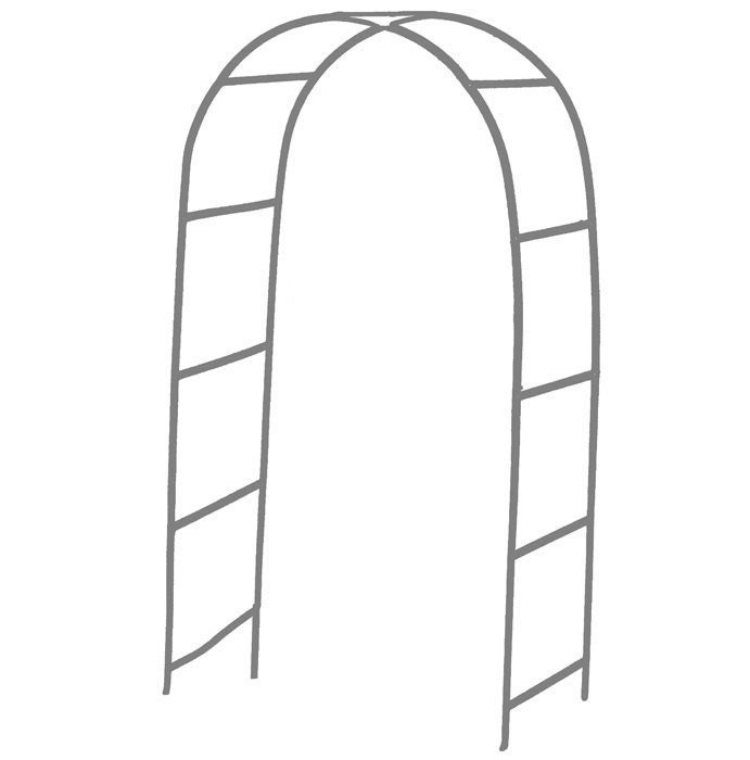 Wedding And Event Metal Steel White Arch