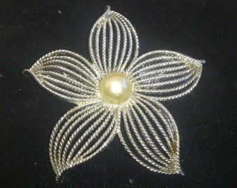 Large vintage Sarah Coventry brooch