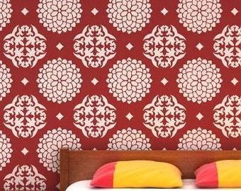 Reusable wall stencil for wall, reusable pattern stencil, DIY home wall stencil,home décor, DS-03