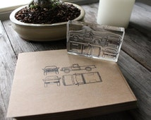 F-150 Truck Rubber Stamp - 2x3 Inches