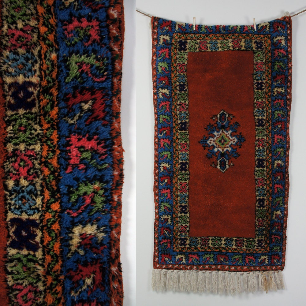 Vintage Moroccan Area Rug / Runner By SPUNKvtg On Etsy