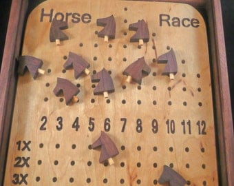 Deluxe Horse Race Game