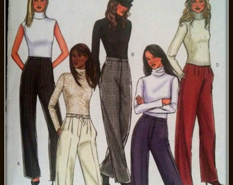 Butterick  B4292  Misses'/ Misses' Petite Pants   Size  (14-20)  Uncut