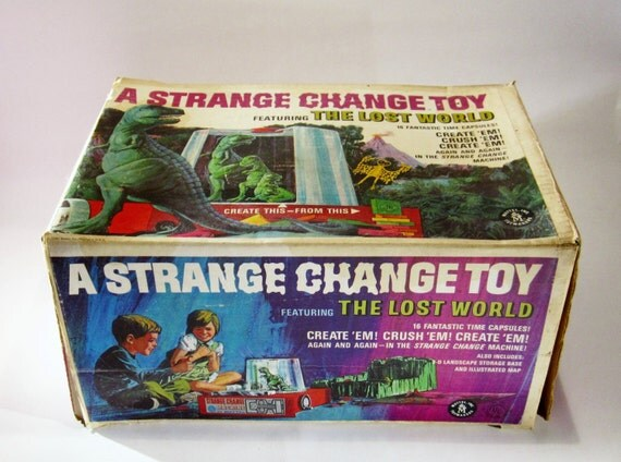 Strange Change Toy : S mattel strange change machine toy in original box