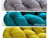 Wimberley Shawl Kit (PDF Pattern & Yarn) 1 Skein