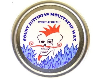 Count Justinian Moustache Wax (Sticky as Hell)