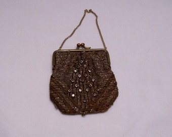 Steel beaded purse