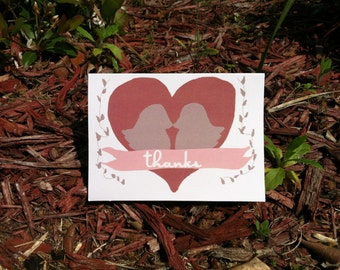 Thank you cards- Printable!