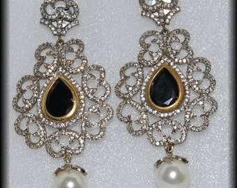 Victorian Collection Drop Earrings
