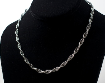 Spiral Necklace - Stainless Steel