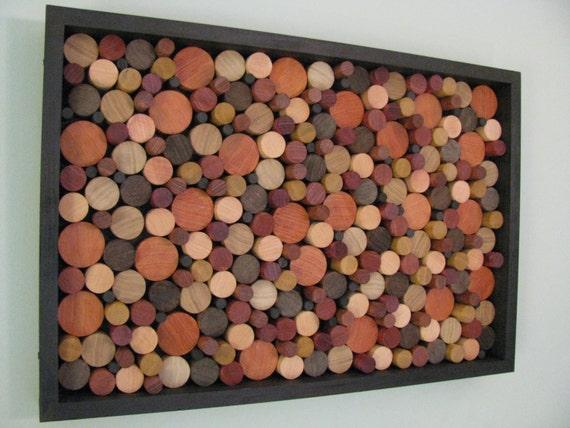 Painting Wood Circles Ornaments