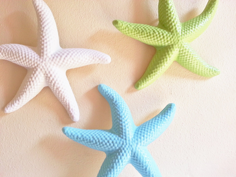 Large Starfish Wall Decor : No holiday delivery starfish wall decor beach