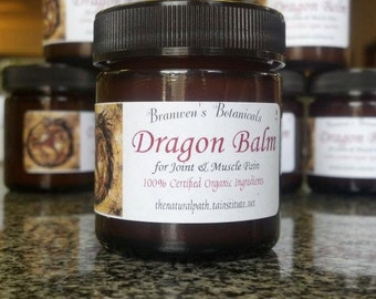 Dragon Balm - Organic Joint & Muscle Pain Relief