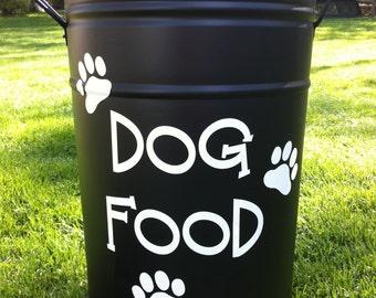 Dog Food Decal
