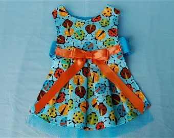 On Sale!  Little Ladybug Dog Dress for Dogs and Puppies