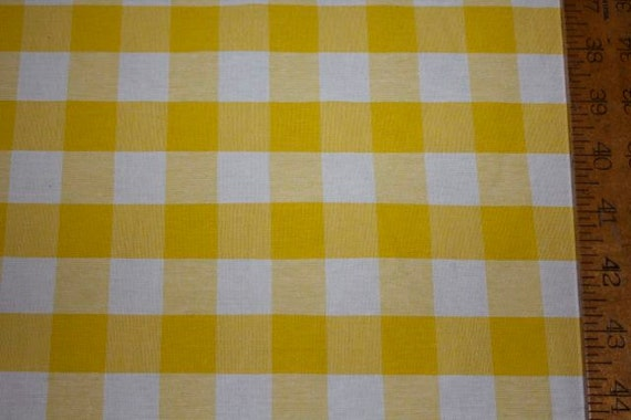 Apparel/Home Decor Fabric: Bright Yellow Large By