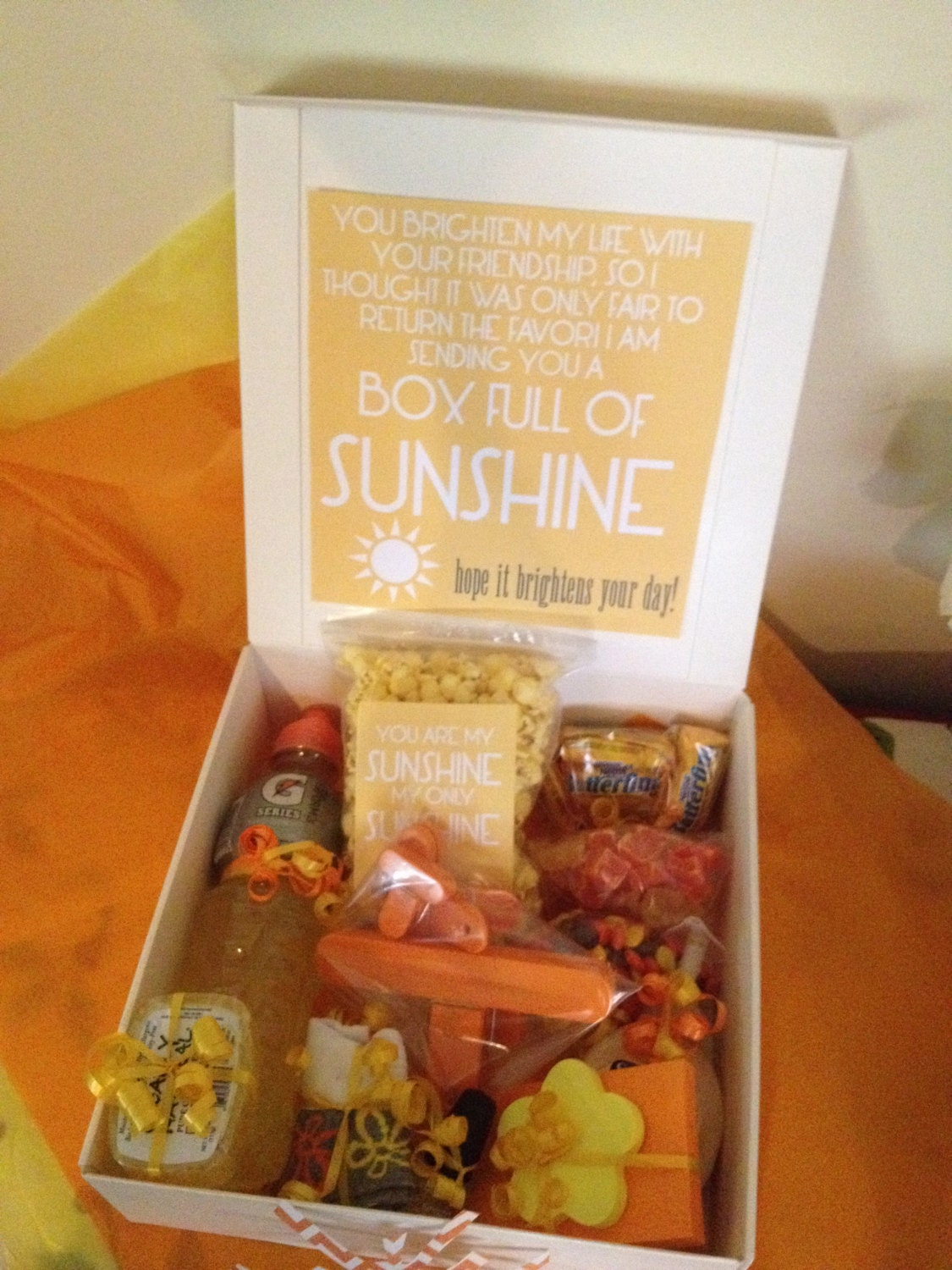 Send A Box Of Sunshine To Someone You Love