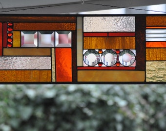 Stained Glass Panel - custom made