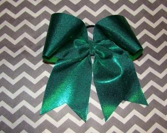 Green Mystic Cheer Bow
