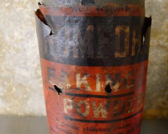 Antique Rumford Baking Powder Can