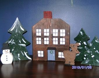 wooden wonderland set