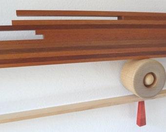 CHOP STICKS Wall Hung Wood Sculpture