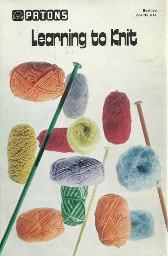 apprendre a tricoter gaucher