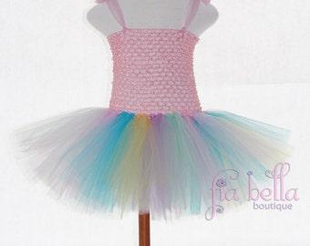 TUTU DRESS...Gorgeous Spring Tulle Tutu Dress...Newborn Tutu...Baby Tutu...Toddler Tutu...Cakesmash Tutu...Birthday Tutu...Summer Dress