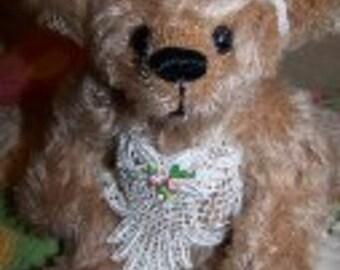 Bella-OOAK Sudey Babe Mohair Teddy Bear