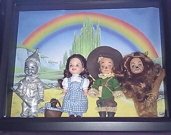 Wizard of Oz Shadow Box