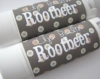 Rootbeer - Vegan Lip Balm - Natural Lip Butter - Bath and Beauty - Beverage Flavor