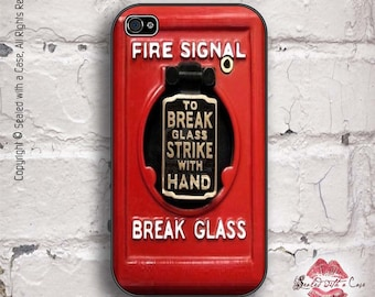 Vintage Fire Alarm - iPhone 4/4S 5/5S/5C/6/6+ and now iPhone 7 cases!! And Samsung Galaxy S3/S4/S5/S6/S7