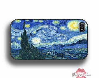 "Vincent Van Gogh ""Starry Night"" - iPhone 4/4S 5/5S/5C/6/6+ and now iPhone 7 cases!! And Samsung Galaxy S3/S4/S5/S6/S7"