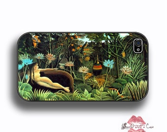 "Henri Rousseau ""The Dream""  Nude portrait- iPhone 4/4S 5/5S/5C/6/6+ and now iPhone 7 cases!! And Samsung Galaxy S3/S4/S5/S6/S7"
