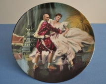 """Shall We Dance from the """"King and I"""" Collector Plate Series Produced by Edwin M. Knowles and Art by William T Chambers"""