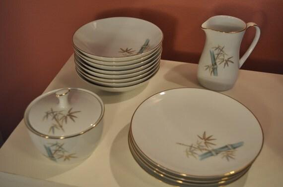 Noritake vajilla de postre en porcelana dise o oriental 14 for Vajilla oriental