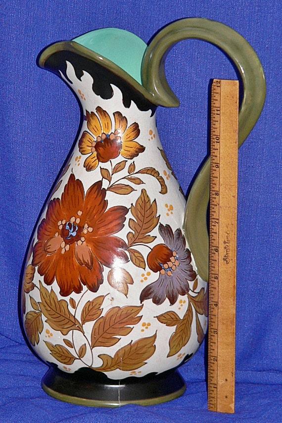 vintage gouda pottery
