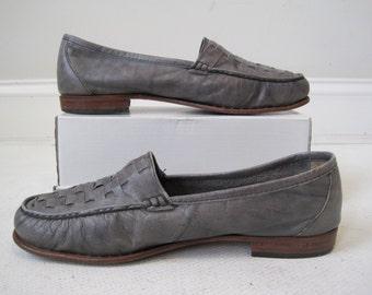 Woman's Shoes Giorgio Brutini Size 9.5 Grey Vintage Bin12