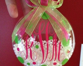 Personalized Christmas Balls