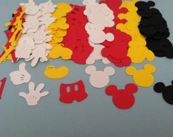 200 Pieces One inch Mickey Mouse Clubhouse Confetti