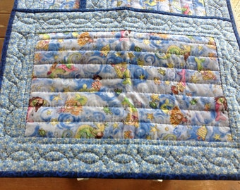 Quilted whimsical placemats
